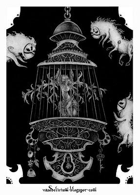 vaso-delirium-trapped