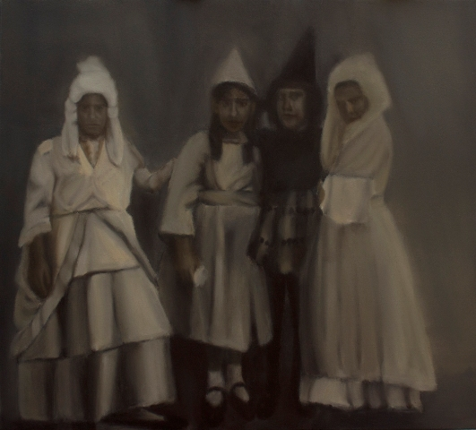 1  11, H υποχρεωση-the obligation,oil on canvas 90x100cm