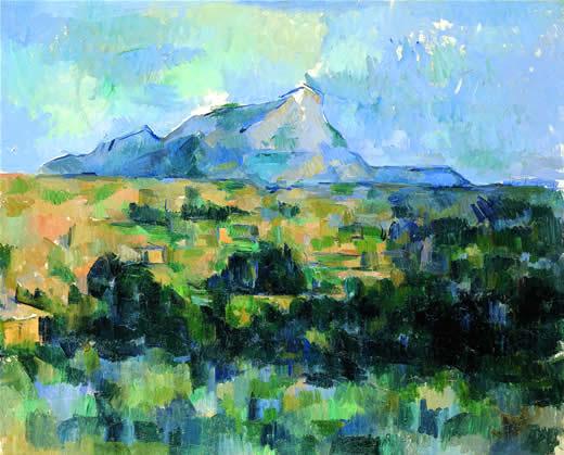 15 Το βουνό Sainte Victoire 1902-1904