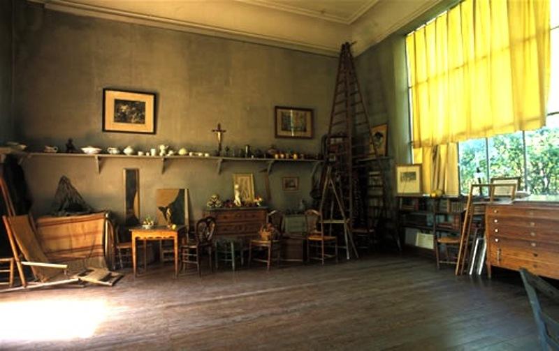 16aa Εσωτερικό ατελιέ του Cézanne, Aix en Provence (photo Atelier Cézanne)