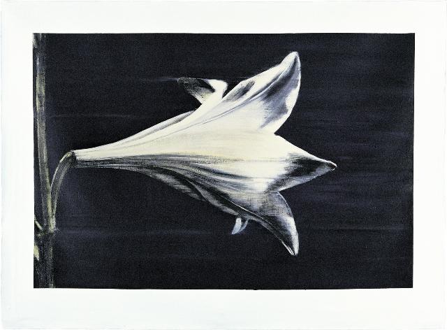 ΝΑΤΑΣΑ ΠΟΥΛΑΝΤΖΑ SOUNDLESS 143x199 Acrylics on canvas