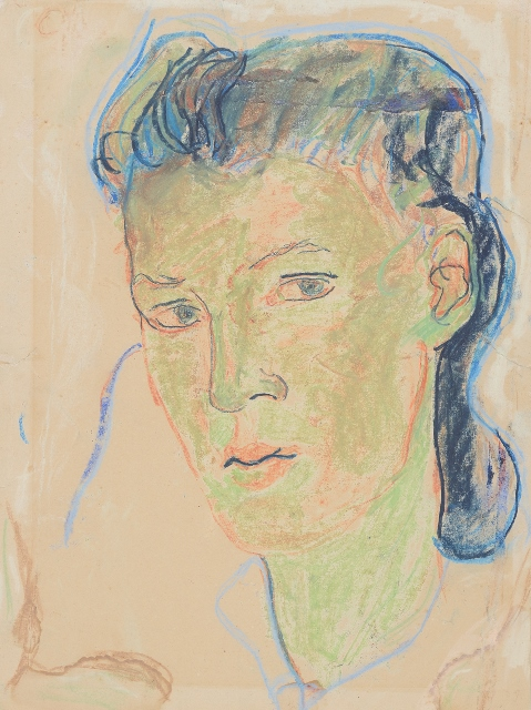 1 Charlotte Salomon, Self Portrait, 1939-41© Collection of the Yad Vashem Art Museum, Jerusalem