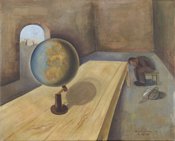 1 Felix Nussbaum, The Refugee, 1939© Collection of the Yad Vashem Art Museum, Jerusalem