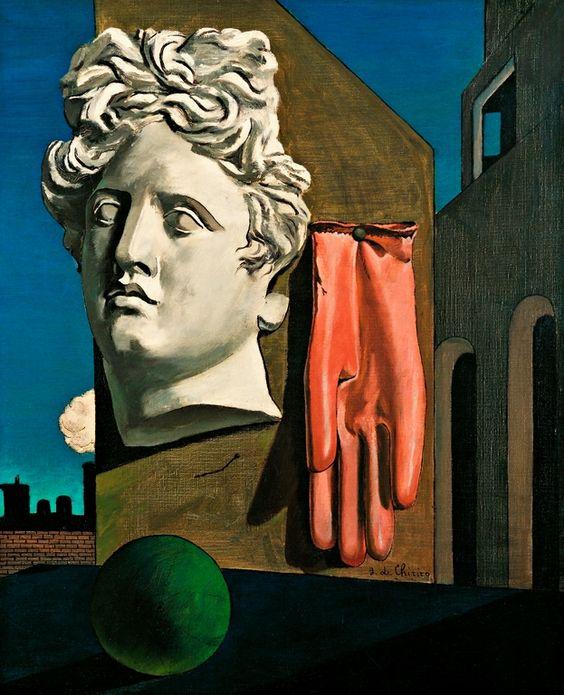 Ντε Κίρικο «Τραγούδι Αγάπης» (Chant d'amour) - Η έμπνευση για το René Magritte