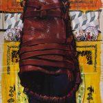 ΒΑΣΙΛΗΣ ΚΑΡΑΚΑΤΣΑΝΗΣ Longitude & Latitude - Skyros - No3.-140X093 cm. acrylic, gouache & oil on canvas 2016-Vassilis Karakatsanis-3