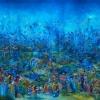 Ali Banisadr: Το μπλε και η αφύπνιση της «ανώτερης συνείδησης»