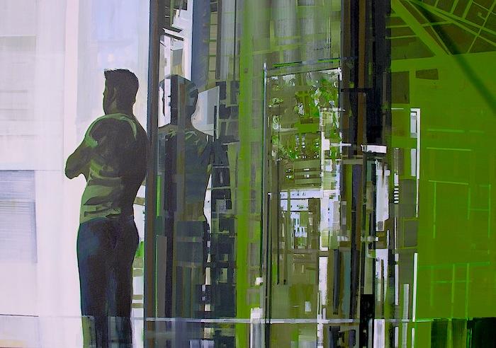 acrylics on canvas, 70x100cm,2012