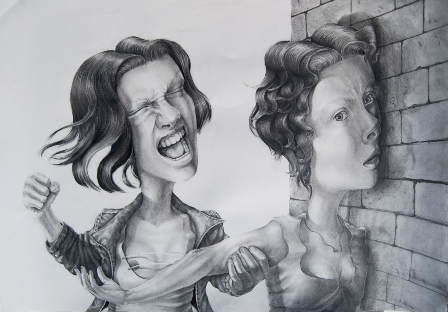 5 antoniagriva_Angry VS Frustrated_70x100