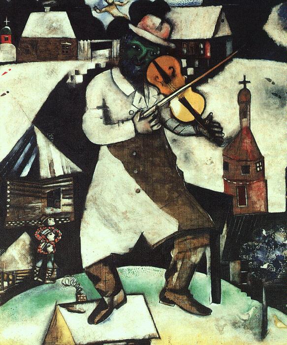 Marc Chagall Fiddler