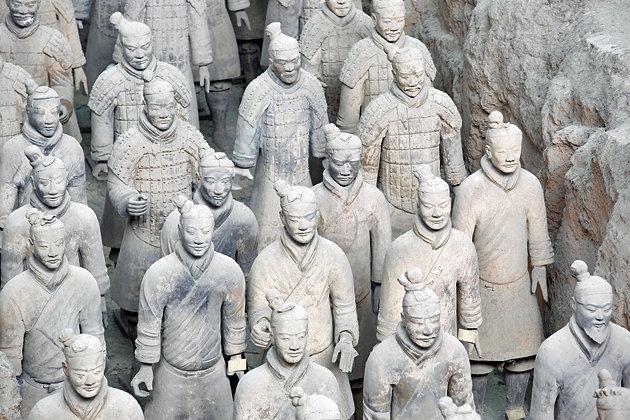 ο πήλινος στρατός του Σιχ Χουάνγκ Τι