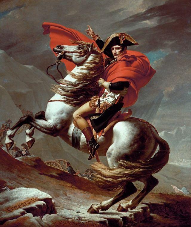 Ζακ –Λουί Νταβίντ Ο Ναπολέων περνά τις Άλπεις