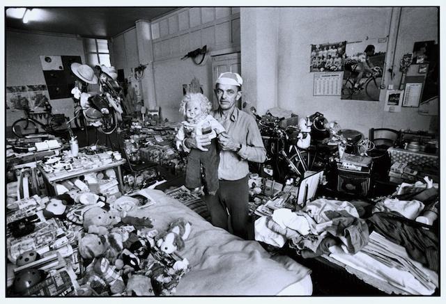 Ο A. Robillard στη ψυχιατρική κλινική photo Mario del Curto