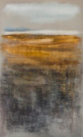 Ξανθίππη Τσαλίμη, your land - 90x150cm - 2014-oil on  canvas