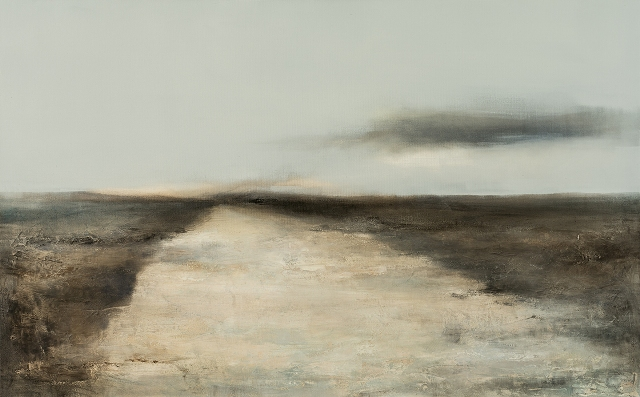 3   7. highway -          - -48x30inch - 122x76 cm, oil on  canvas, 2015