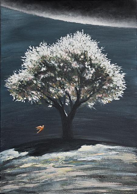 1 ΑΜΑΛΙΑ ΦΕΡΕΝΤΙΝΟΥ,ΦΕΡΟΝΤΑ ΦΩΣ(2),2014,ΑΚΡΥΛΙΚΑ,50Χ70