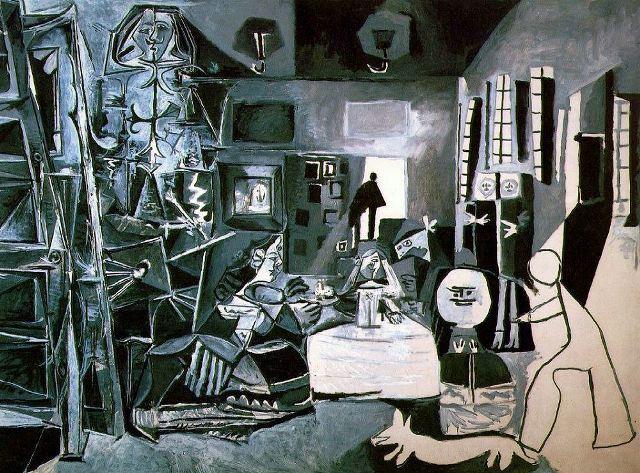 Pablo-Picasso las meninas