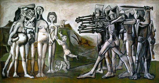 Pablo-Picasso, massacre-in-korea
