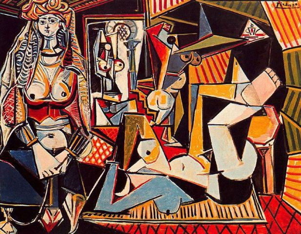 Pablo-Picasso the-women-of-algiers