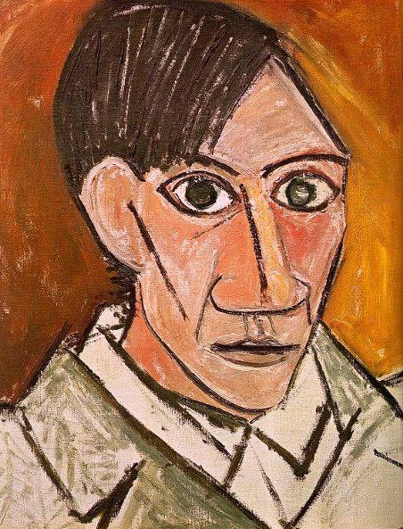 Pablo-Picasso autoportret19077qs