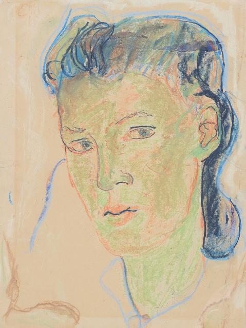 1 Charlotte Salomon, Self Portrait, 1939-41© Collection of the Yad Vashem Art Museum, Jerusalem