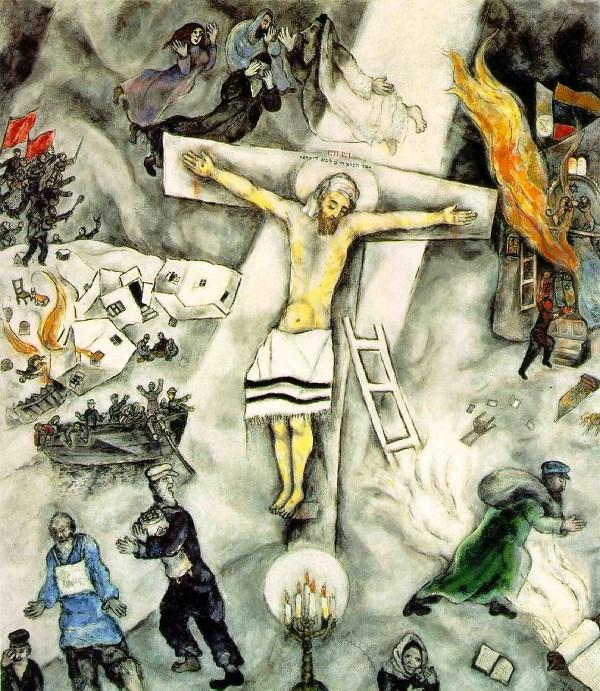ΛΕΥΚΟΣ ΣΤΑΥΡΟΣ chagall
