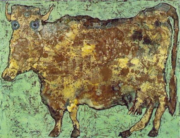 ΖΑΝ ΦΙΛΙΠ ΝΤΙΜΠΙΦΕ cow with subtile nose