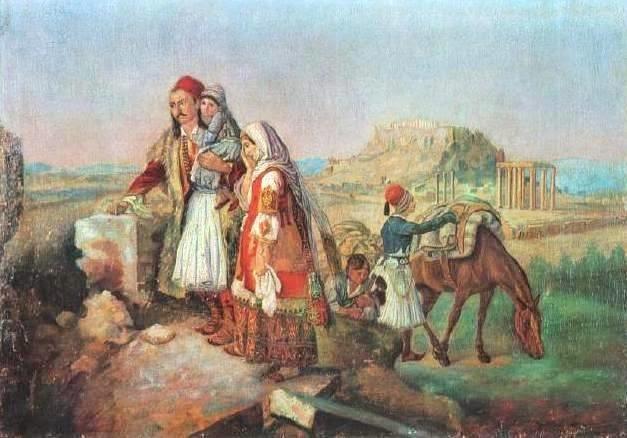 ΘΕΟΔΩΡΟΣ. ΒΡΥΖΑΚΗΣ - Αθηναϊκή οικογένεια επιστρέφει στα ερείπια του σπιτιού της