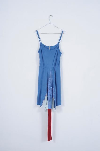 ΣΠΥΡΙΔΟΥΛΑ ΠΟΛΙΤΗ, 2015, φόρεμα, ύφασμα, 38 x 142εκ
