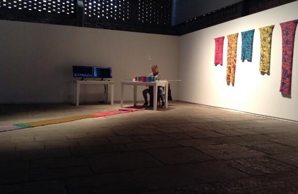 Oiko-nomic Threads  19th Contemporary Art Festival Sesc_Videobrasil, São Paulo, BR 2015 (c) Marinos Koutsomichalis.