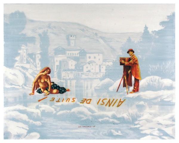 ΧΡΗΣΤΟΣ ΚΑΛΦΑΣ Ainsi De Suite - 45 x 50
