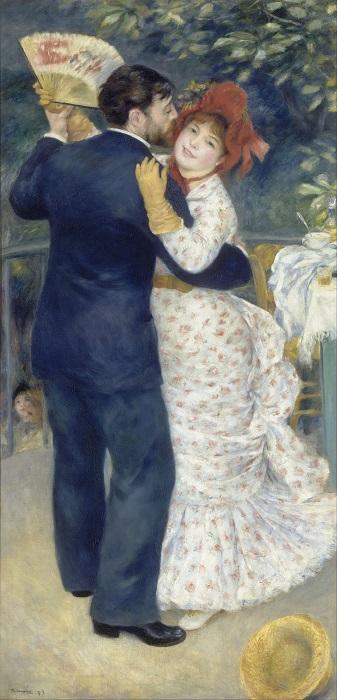 Χορός στη Χώρα από τον Pierre Auguste Renoir.
