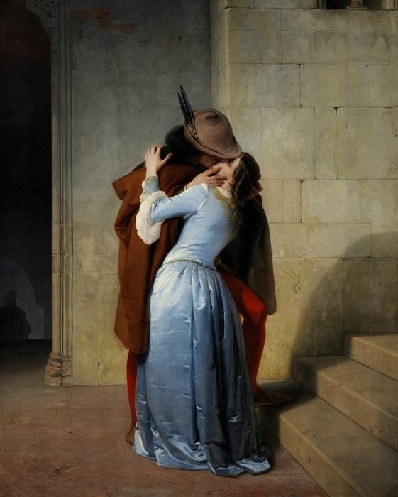 Francesco Hayez Το φιλί 1859