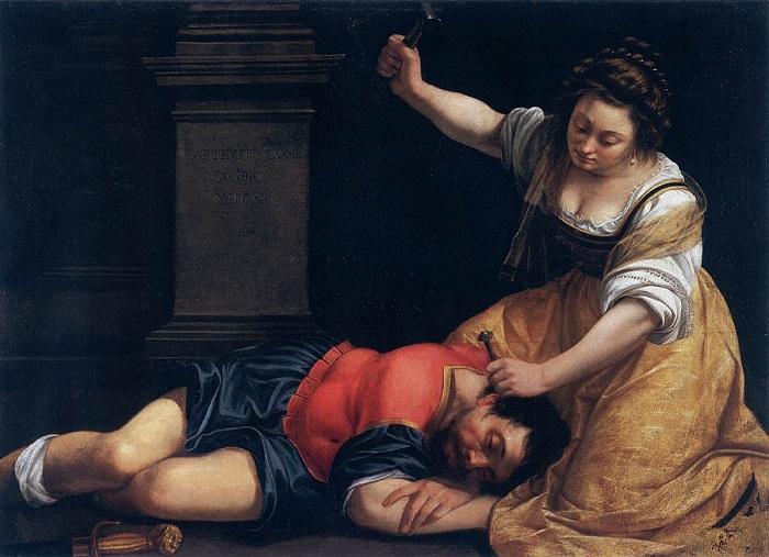 Ιαήλ και Σισάρα,1620 - Μουσείο Καλών Τεχνών Βουδαπέστης