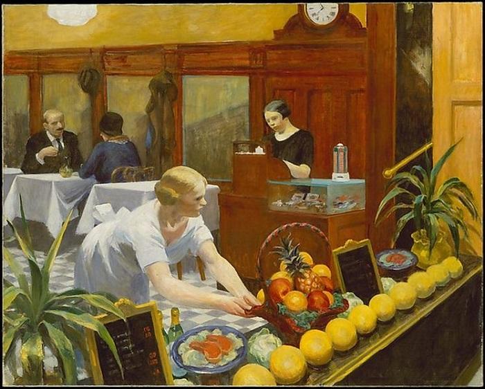Edward-Hopper - Πίνακες για Κυρίες. 1930