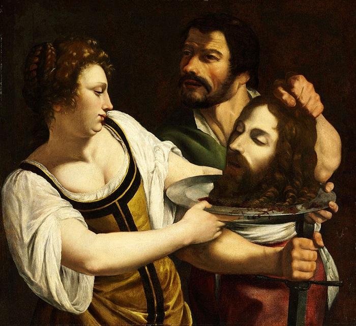 Η Σαλώμη με το κεφάλι του Ιωάννη Του Βαπτιστή (1610 - 1615)