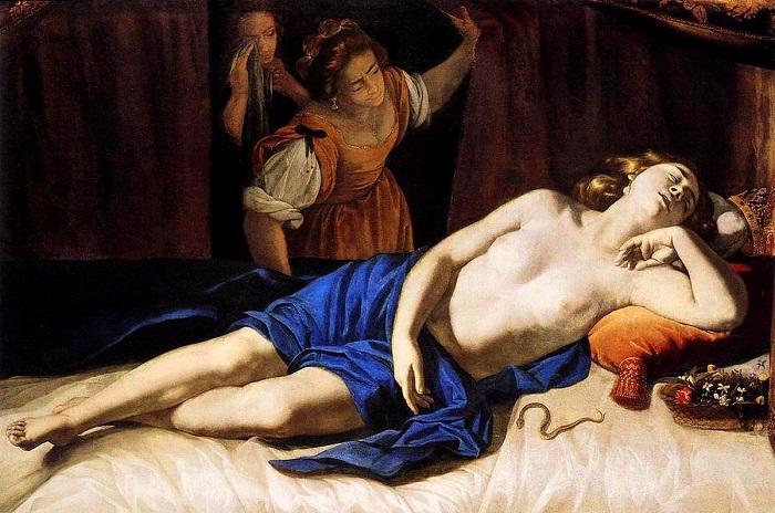 Κλεοπάτρα, (1635 -35) ιδιωτική συλλογή