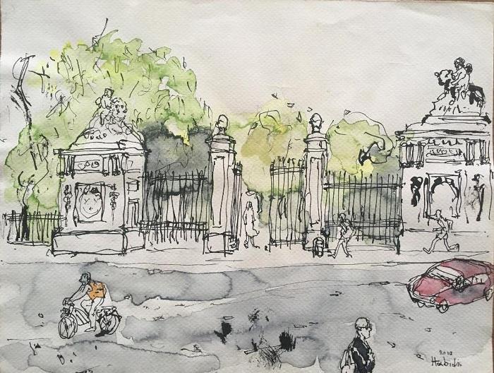 Πάβλος Χαμπίδης Au Parc Royal