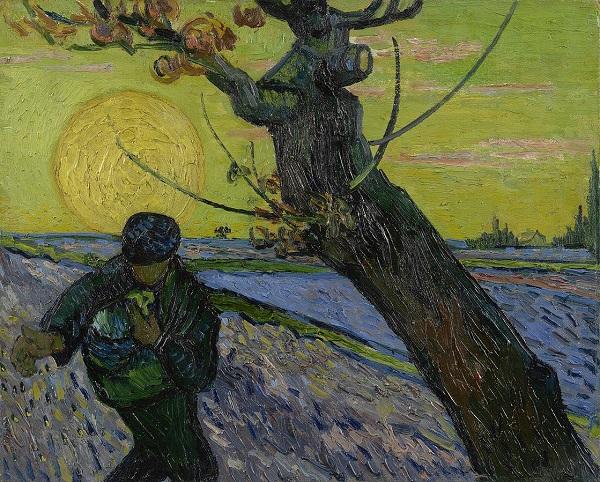 Βίνσεντ βαν Γκογκ: Ο Σπορέας με τον Ήλιο , 1888. Μουσείο Βαν Γκογκ, Άμστερνταμ