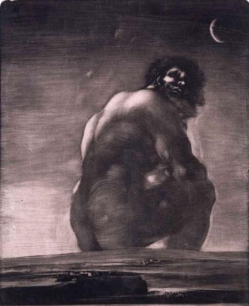 Ο Γίγαντας (1818) από τον Francisco Goya