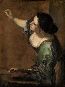 Αυτοπροσσωπογραφία ως αλληγορία τη ζωγραφικής (1638 - 39) Αγγλία