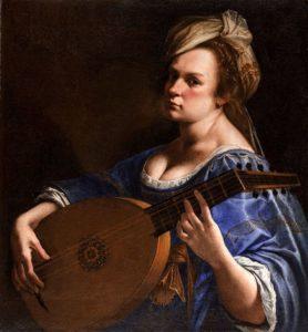 Αυτοπροσωπογραφία ως μουσικός λαούτου (1610 -15)