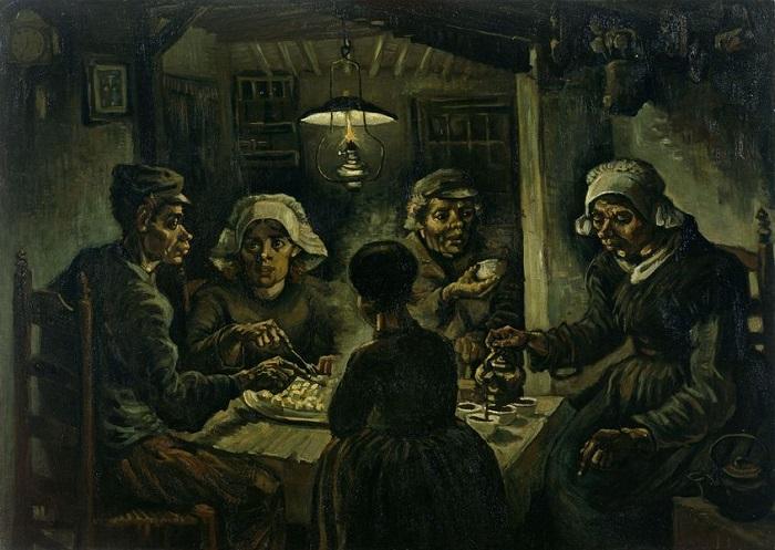 Vincent Van Gogh - πατατοφάγοι 1885.