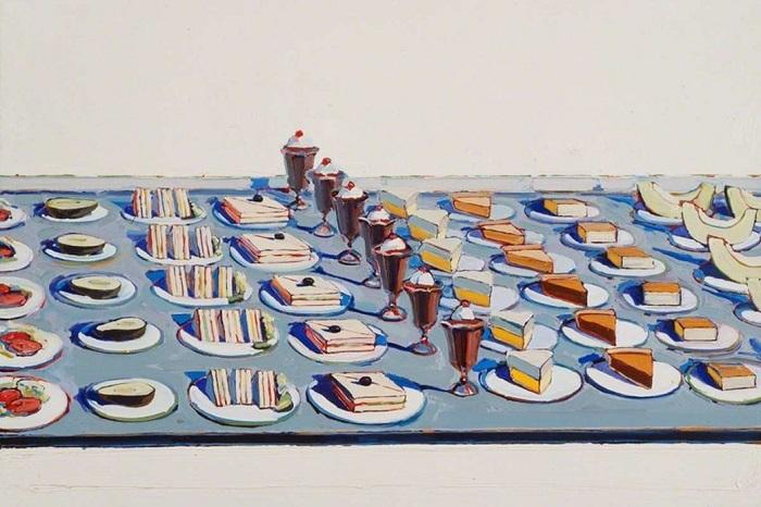 Wayne-Thiebaud Σαλάτες, σάντουιτς και επιδόρπια 1962
