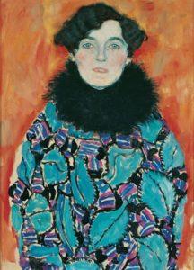 Ένα ακόμη μισοτελειώμένο έργο του Klimt. Το πο της Johanna Staude, από το τελευταία έργα του καλλιτέχνη.1918