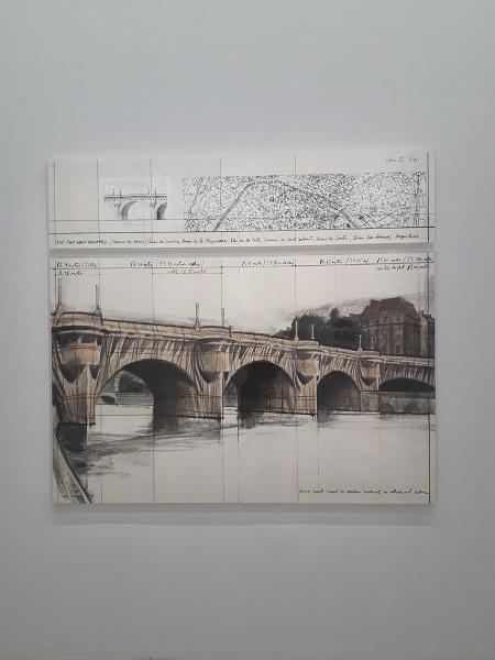 Γέφυρα Pont Neuf τελική εικόνα και προσχέδια