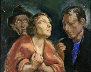 Τρεις χαρακτήρες, Εθνική Πινακοθήκη