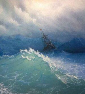 Μία από τις πιο γνωστές θαλασσογραφίες του Ivan Aivazovsky