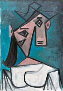 άμπλο Πικάσο: Γυναικείο Κεφάλι, 1939